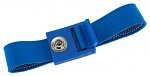 SAFEGUARD - 2050.750.7 - ESD wrist strap light blue, 7 mm snap fastener, toothed clasp, WL27409
