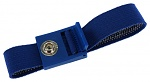 SAFEGUARD - SAFEGUARD ESD PRO - ESD bracelet dark blue, 7 mm snap fastener, toothed clasp, WL43715