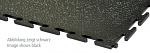 ECOTILE - E500/7/231 - PVC floor tile, graphite, standard, smooth, 500 x 500 x 7 mm, WL41877
