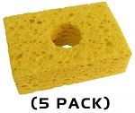 THERMALTRONICS - SPG-5 - Sponge yellow, pack of 5, WL37520