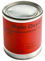 ERSA - 4HMFARBE - Oxidfarbe für Tiegel, rot 750 g, WL12371