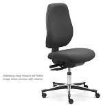 SAFEGUARD - IS 2087_ESD 044033 044033 V11 – E76-GLEITER - ESD chair Tec classic glider, upholstered black - SafeGuard Edition, WL46439