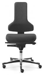 SAFEGUARD - IS 2011_ESD BS2 044033 044033 V12 – E76-ROLLEN - ESD Chair Tec profile castors, upholstered black - SafeGuard Edition, WL45085
