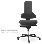 SAFEGUARD - IS 2011_ESD BS2 044033 044033 V12 – E76 - ESD chair Tec profile glider, upholstered black - SafeGuard Edition, WL46437