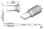 JBC - C470058 - Soldering tip chisel-shaped, 8 x 2.5 mm, WL37349