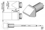 JBC - C470067 - Soldering tip chisel-shaped, 15.5 x 2.5 mm, WL46218