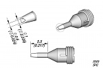 JBC - C360011 - Desoldering nozzle for pad cleaning, D: 0.6 mm, WL30203