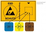WARMBIER - 2850.6035.21.D - Aufkleber ESD-Prüfung 2021, WL46958