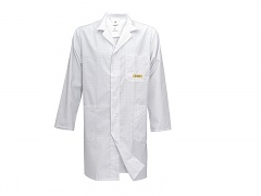 HB SCHUTZBEKLEIDUNG - 08005 48011 000 10 - ESD work coat CONDUCTEX, long sleeve, men, white, XL, WL20159