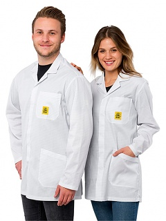 SAFEGUARD - Pro Line 1/2 - XL - ESD work coat 1/2 Pro Line, white, XL, WL42499
