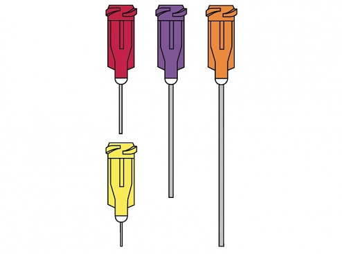 "EFD - 5114-B / 7018043 - Dispensing tip, 1/2"", straight/olive, WL11680"