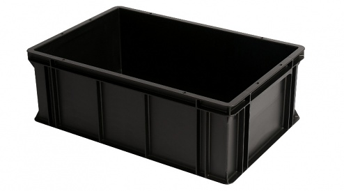 WEZ - 6420.007. - ESD container 600x400x212 mm, WL34817