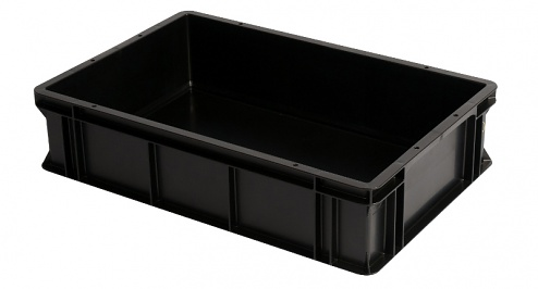WEZ - 6413.007. - ESD container 600x400x145 mm, WL34820