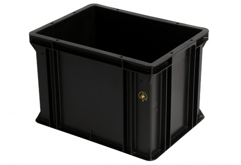 WEZ - 4326.007. - ESD container 400x300x278 mm, WL34821