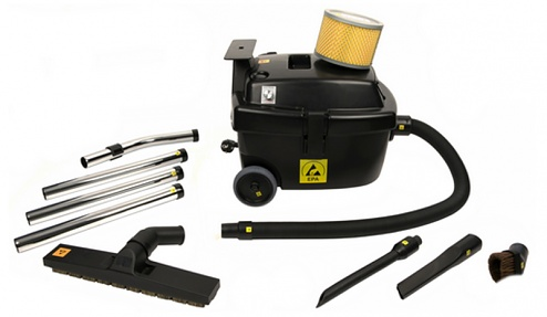 888-ESD-S-E GS ISO-7 - ESD vacuum cleaner ISO 7, 1100 Watt, 12 Liter, continuously adjustable, WL41133