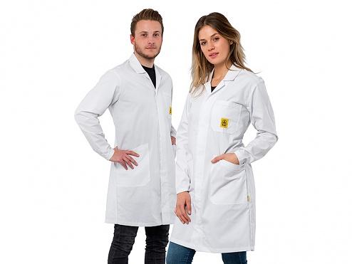 SAFEGUARD - Pro Line Plus - 3XL - ESD Pro Line PLUS lab coat, WL42405