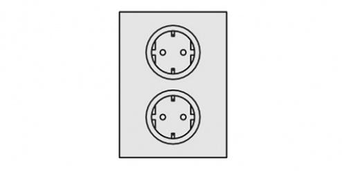 KARL - 95.410.70 - EAL socket module, WL34969
