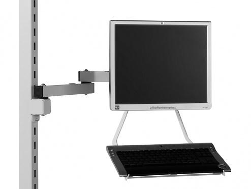 KARL - 39.670.70 - Tastaturablage, grau, WL34114
