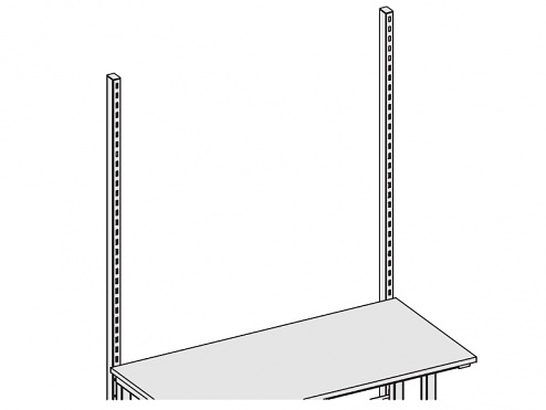 KARL - 29.122.70 - Vertikalstrebe 1340 mm Sintro, grau, WL34979