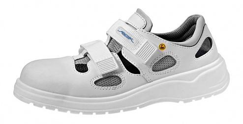 ABEBA - 31131-40 - ESD Sandal white, professional shoe light, size 40, WL29388