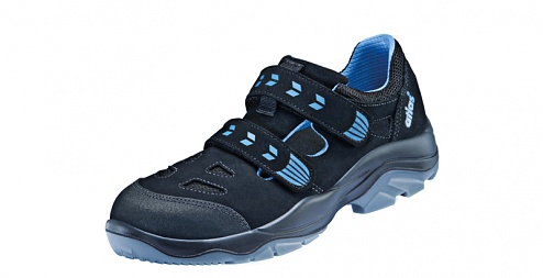ATLAS - ESD ERGO-MED 360 blueline W10 - ESD Velcro fastening shoe, WL44598