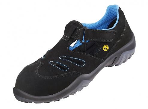 ATLAS - ESD GX 350 black - ESD women's safety shoe, WL42769