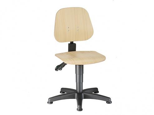 BIMOS - 9650-3000 - Unitec 1 work chair, plywood beech, WL40289