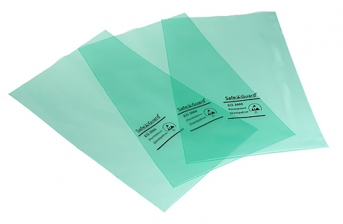 SAFEGUARD - SafeGuard ESD - ESD bag, green, 152 x 254 mm, WL32453