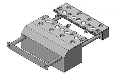 WEIDINGER - WPH-5.1 - Board holder for WUH-5, WL25899