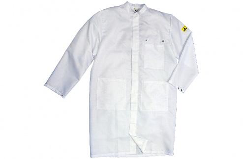 HB SCHUTZBEKLEIDUNG - Cleantex KI90-WS-H-XS - ESD coat for MEN, WL36007