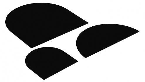 SAFEGUARD - SAFEGUARD ESD - ESD-Trennwand für SMD-Spulenständer, Rollendurchmesser 330 mm, 330x330x2 mm, WL21072