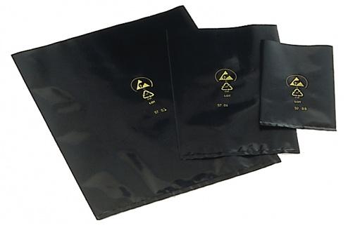 WARMBIER - 3210.130x200 - ESD bag, black, 130x200 mm, WL20910