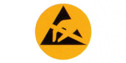 WARMBIER - 2850.6 - ESD warning sign (packaging), WL19653