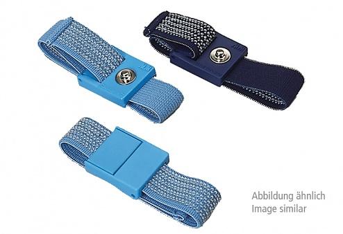 WARMBIER - 2050.750.7 - ESD Armband, hellblau, 7 mm Druckknopf, WL44938