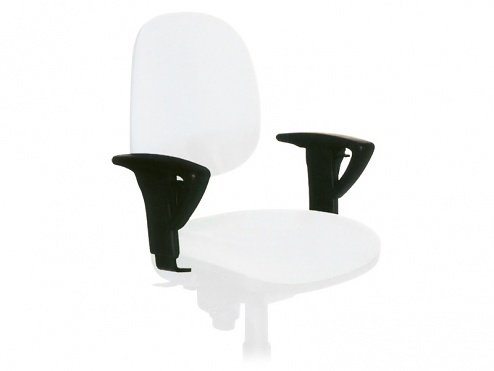 WARMBIER - 1700.XS - Armrests, for Comfort/Economy Chair and Vinyl Chair, WL24265