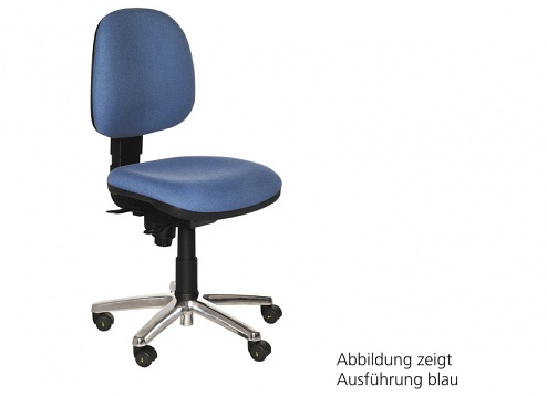 WARMBIER - 1700.KS.D.H - ESD chair COMFORT CHAIR, grey, hard castors, WL27086