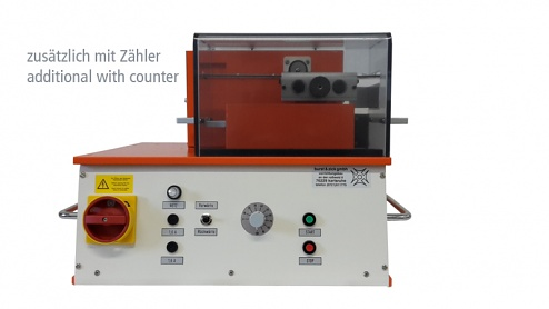 BURST & ZICK - C 066 MZ - Cutting device 0.8 / radial, with counter, WL37131
