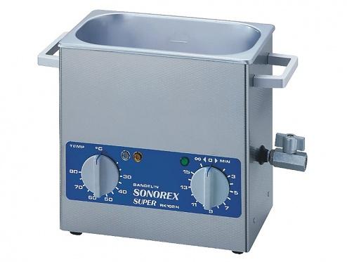 SONOREX - RK 102 H - Ultrasonic bath 3 l, heatable, WL10491