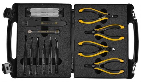 "BERNSTEIN - 2230 - ESD tool set ""ELITE"" with 20 tools, WL43155"