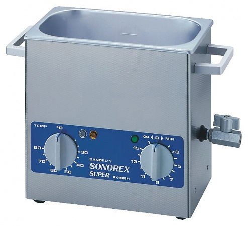 SONOREX - RK 102 H - Ultrasonic bath 3 l, heatable, WL10491