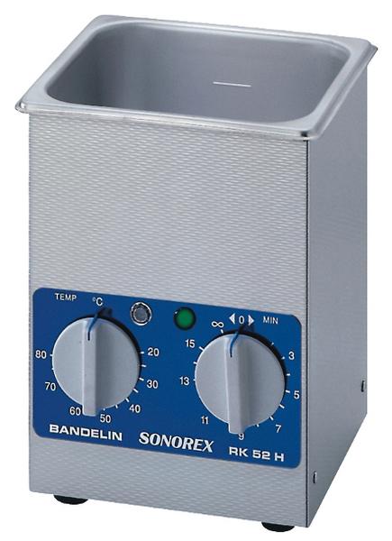 SONOREX - RK 52 H - Ultrasonic bath 1.8 l, heatable, WL18117