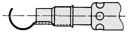 WELLER - T0051615999 - Reflektorvorsatz für Schrumpfarbeiten Ø 6,0 mm, Breite 18,0 mm, WL16435