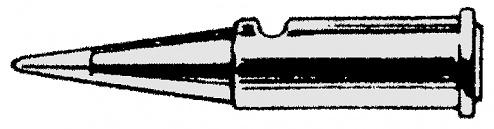 WELLER - T0051612099 - Lötspitze Pyropen nadelförmig, D: 1 mm, WL16416