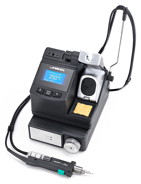 JBC - CV-2E - Desoldering station digital 230 V, with pneumatic pump, WL30302