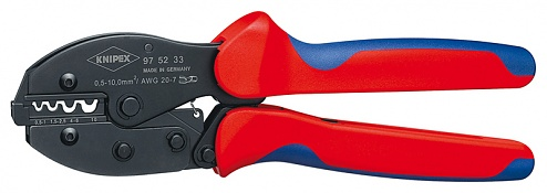 KNIPEX - 97 52 33 - PreciForce® crimping tool burnished 220 mm, WL27701