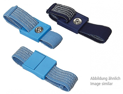 WARMBIER - 2051.750.10 - ESD Armband, dunkelblau, 10 mm Druckknopf, WL44941