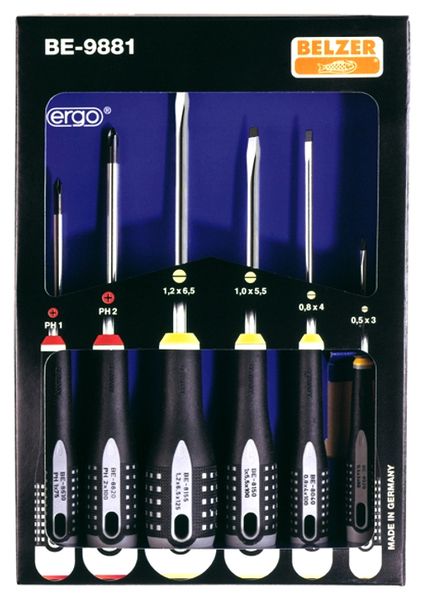 BE 9871 (Set) - Screwdriver set (6), WL27739