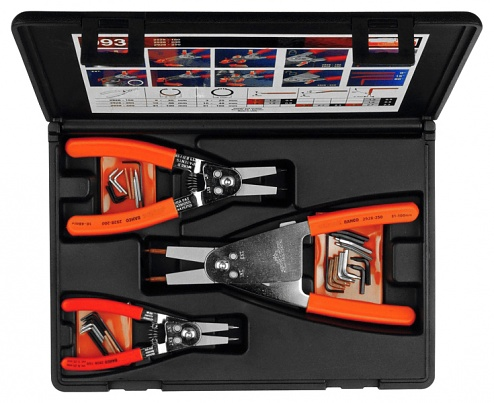 9938 (Set) - Circlip pliers set (3), WL16052