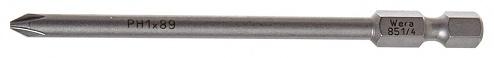 WERA - 851/4 Z PH 1/89 - Screwdriver bit PH-1, L=89mm, WL44488