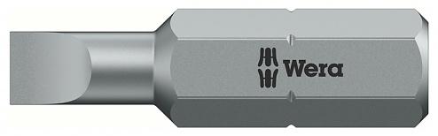 WERA - 05059472001 - Bit for slotted screws, 800/4 Z 0.6 x 3.5 x 70 mm, WL22854